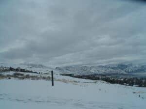 A White Christmas in Utah