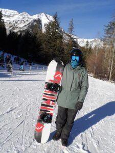 Snowboarding at Sundance