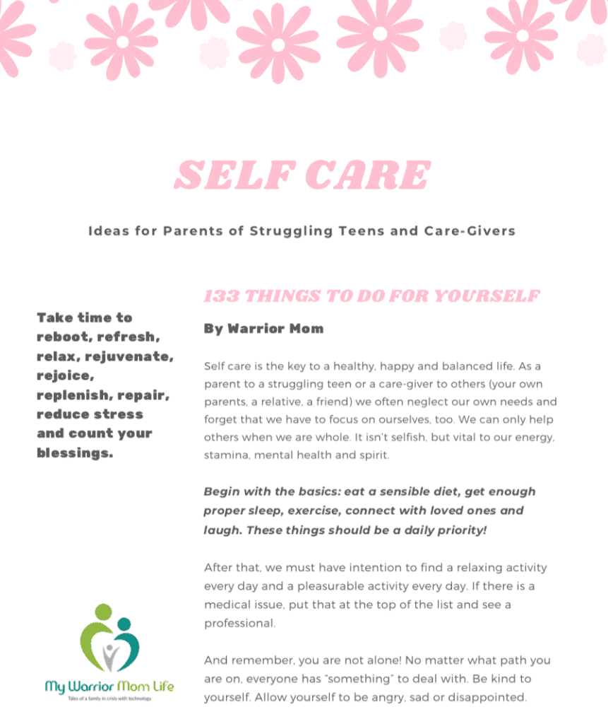 Self Care - 133 Things to Do For Yourself